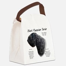 Black Russian Terrier Canvas Lunch Bag