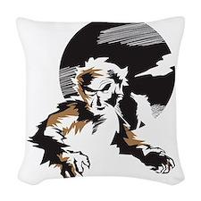 Werewolf Woven Throw Pillow