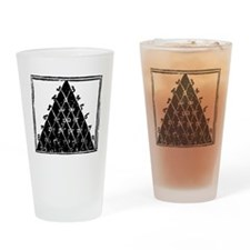 Petrus Apianus's Pascal's Triangle, Drinking Glass
