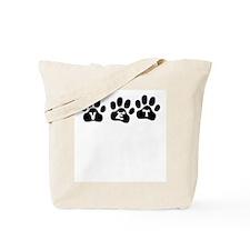 Vet Paw Prints Tote Bag