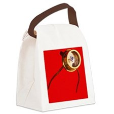 Photodiode Canvas Lunch Bag