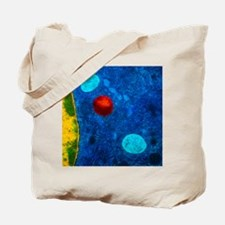 Colour TEM of primary lysosome in liver c Tote Bag