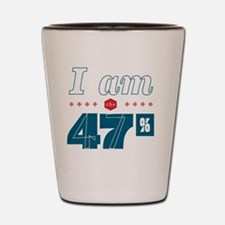 I Am the 47% Shot Glass