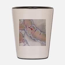 Colonic polyp X-ray Shot Glass