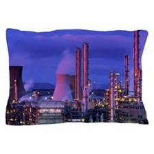 Petrochemical plant Pillow Case
