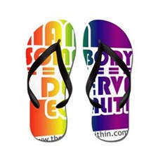 LGBTQI for Marriage Equality Flip Flops