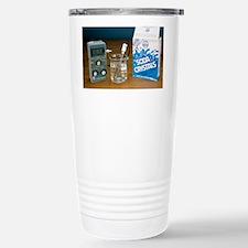 pH meter Stainless Steel Travel Mug