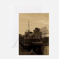 Daniel McAllister Tugboat Greeting Card