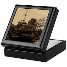 Daniel McAllister Tugboat Keepsake Box