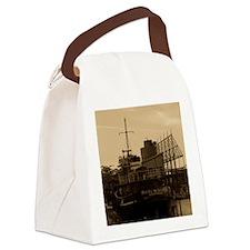 Daniel McAllister Tugboat Canvas Lunch Bag