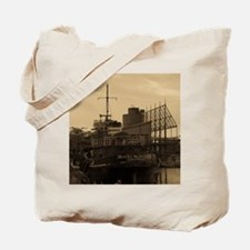 Daniel McAllister Tugboat Tote Bag
