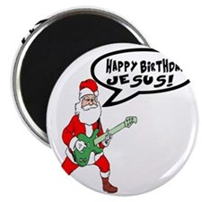Happy Birthday Jesus! - Christmas Shirt Magnet