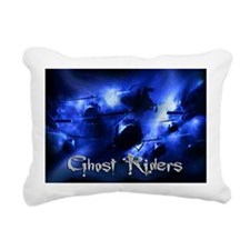 CD2Blue46+ Rectangular Canvas Pillow