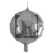 Computer artwork of Albert Einstein Balloon
