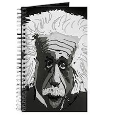 Computer artwork of Albert Einstein Journal