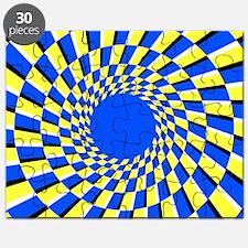 Peripheral drift illusion Puzzle