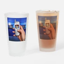 Personalised virtual avatar Drinking Glass