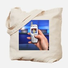 Personalised virtual avatar Tote Bag