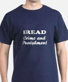 iREAD Crime and Punishment T-Shirt