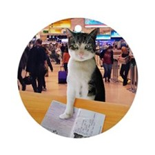 Pet passport Round Ornament