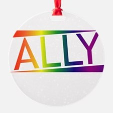 Straight Allies for Marriage Equali Ornament