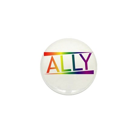 Straight Allies for Marriage Equality! Mini Button