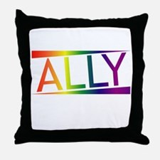 Straight Allies for Marriage Equality Throw Pillow