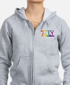Straight Allies for Marriage Eq Zip Hoodie