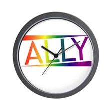 Straight Allies for Marriage Equality!! Wall Clock