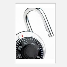 Combination padlock Postcards (Package of 8)