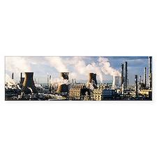 Petrochemical plant Bumper Sticker
