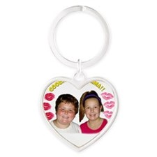 Kids Goodnight Momma Heart Keychain
