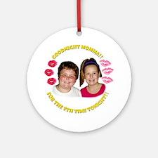 Kids Goodnight Momma Round Ornament
