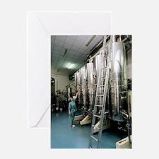 Pharmaceutical water purification pr Greeting Card
