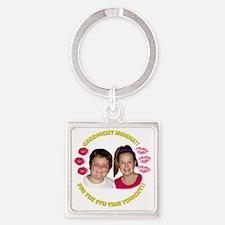 Kids Goodnight Momma Square Keychain