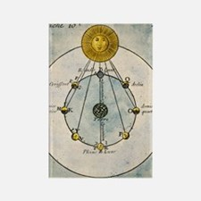 Phases of the Moon, 1790 Rectangle Magnet