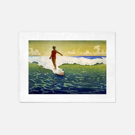 Hawaii - Charles William Bartlett - 1918 5'x7'Area