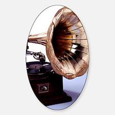 Phonograph Decal