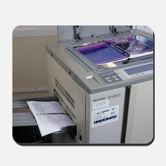 Photocopier Mousepad