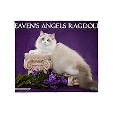 Ragdoll Cat Wall Calendar Throw Blanket
