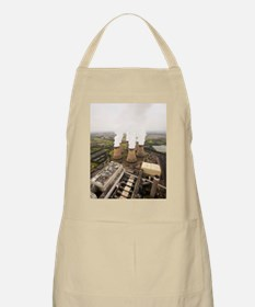 Power station cooling towers Apron