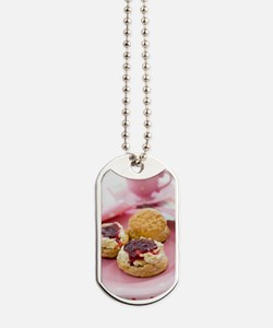 Cream tea Dog Tags