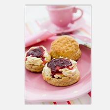 Cream tea Postcards (Package of 8)