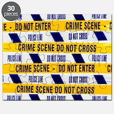 Crime scene tape Puzzle