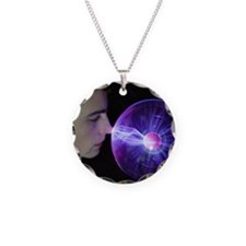 Plasma sphere Necklace
