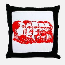 Mao,Stalin,Lenin,Engels,Marx Throw Pillow
