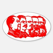 Mao,Stalin,Lenin,Engels,Marx Decal