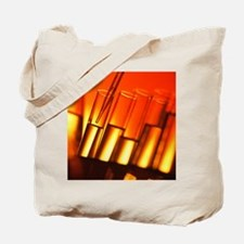 Pipette and test tubes Tote Bag