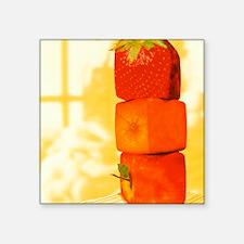 "Conceptual image of genetic Square Sticker 3"" x 3"""