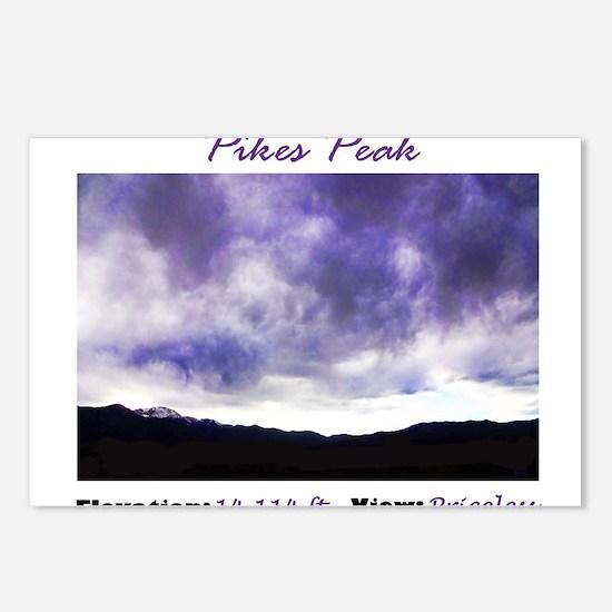 Pikes Peak Priceless Postcards (Package of 8)